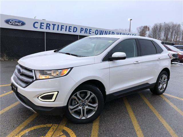 2018 Ford Edge Titanium (Stk: P8609) in Barrie - Image 1 of 30