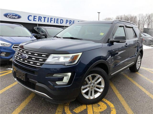 2017 Ford Explorer XLT (Stk: P8610A) in Barrie - Image 1 of 30