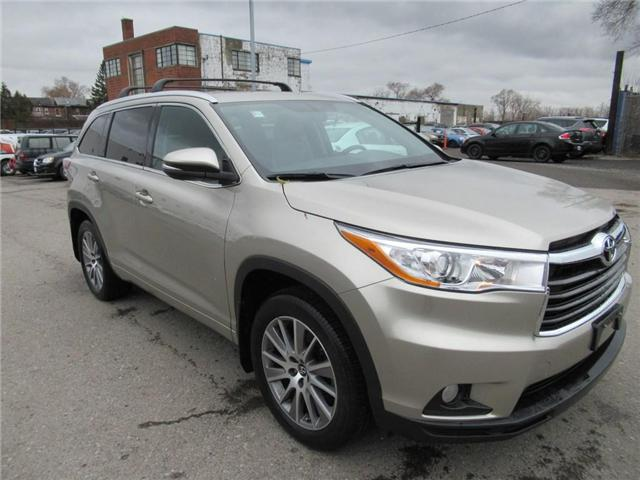 2016 Toyota Highlander XLE (Stk: 15796A) in Toronto - Image 1 of 21