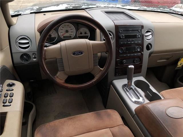 2007 Ford F-150 King Ranch (Stk: 1FTPW1) in Belmont - Image 10 of 17