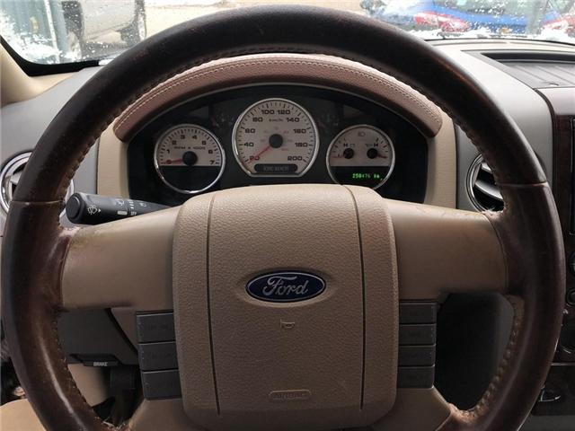 2007 Ford F-150 King Ranch (Stk: 1FTPW1) in Belmont - Image 15 of 17