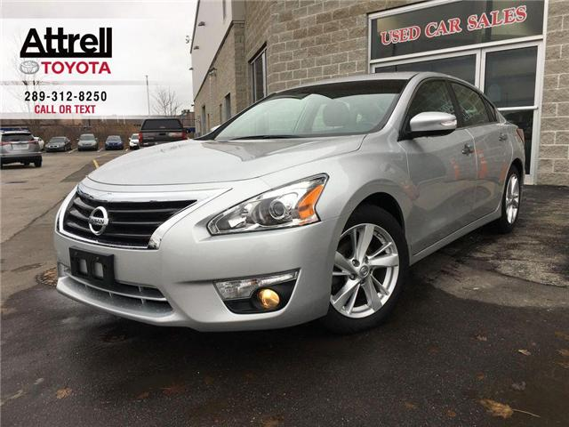 2013 Nissan Altima 2.5 SL NAVIGATION, LEATHER, SUNROOF, ALLOYS, FOG,  (Stk: 42738A) in Brampton - Image 1 of 29