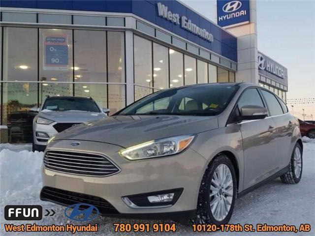 2015 Ford Focus Titanium (Stk: 95949A) in Edmonton - Image 1 of 22