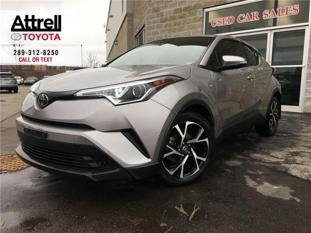 2018 Toyota C-HR XLE PREMIUM PKG ALLOYS, HEATED SEAT, BSM, RCTA, ON (Stk: 42898A) in Brampton - Image 1 of 24