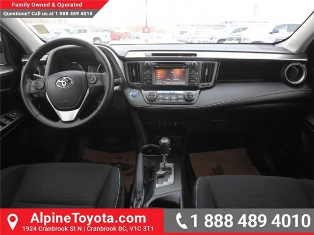 2016 Toyota RAV4 Hybrid XLE (Stk: D035127M) in Cranbrook - Image 10 of 17
