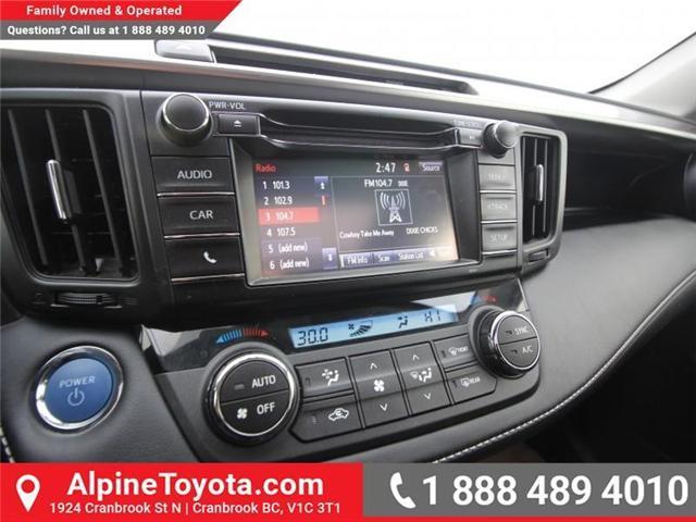 2016 Toyota RAV4 Hybrid XLE (Stk: D035127M) in Cranbrook - Image 13 of 17