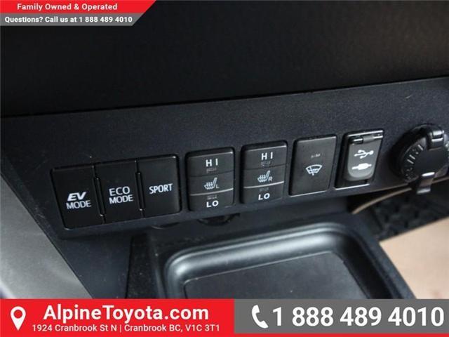 2016 Toyota RAV4 Hybrid XLE (Stk: D035127M) in Cranbrook - Image 14 of 17