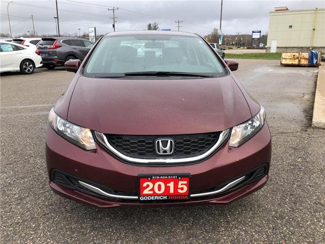 2015 Honda Civic LX (Stk: U16818) in Goderich - Image 3 of 17