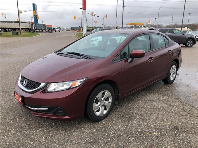 2015 Honda Civic LX (Stk: U16818) in Goderich - Image 4 of 17
