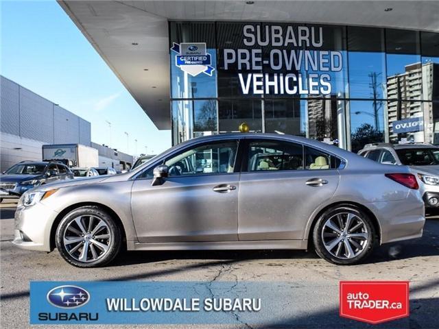 2016 Subaru Legacy 2.5i Limited | TECH | NAVI | BLIND SPOT ASSIST (Stk: P2623) in Toronto - Image 2 of 23