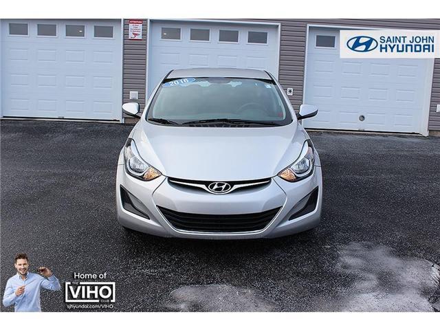 2016 Hyundai Elantra GL (Stk: U1954) in Saint John - Image 2 of 18