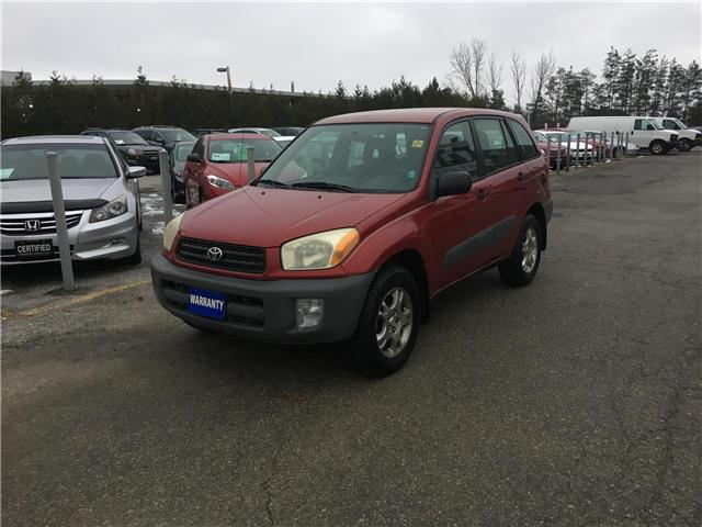 2001 Toyota RAV4 4WD (Stk: P3513) in Newmarket - Image 1 of 14