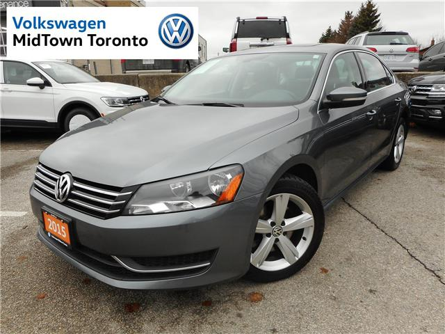 2015 Volkswagen Passat  (Stk: W0034A) in Toronto - Image 1 of 29