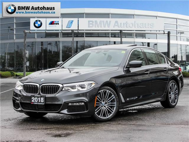 2018 BMW 540i xDrive (Stk: P8664) in Thornhill - Image 1 of 25
