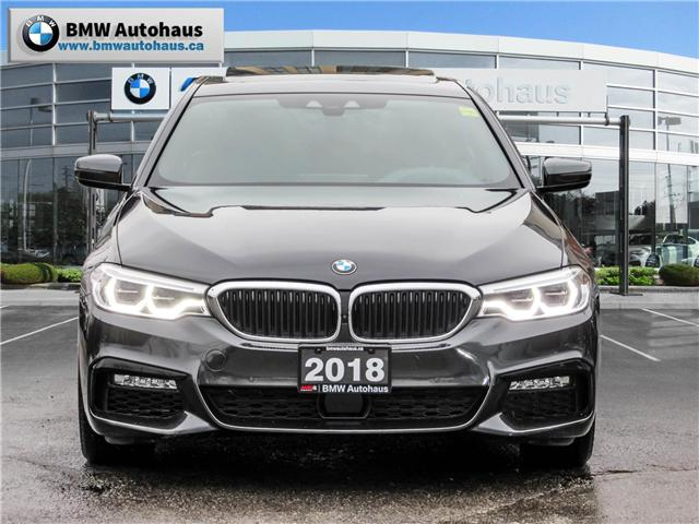 2018 BMW 540i xDrive (Stk: P8664) in Thornhill - Image 2 of 25