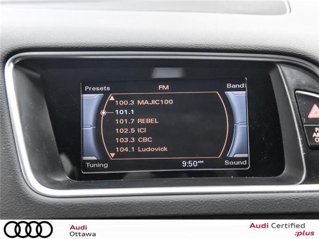 2016 Audi Q5 2.0T Komfort (Stk: 52009A) in Ottawa - Image 21 of 22