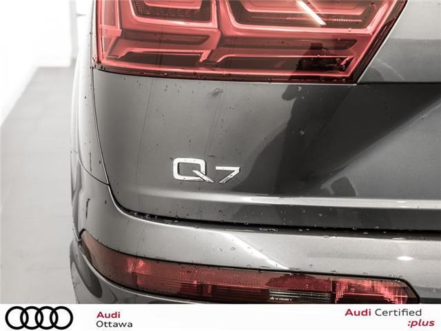 2017 Audi Q7 3.0T Technik (Stk: 52133A) in Ottawa - Image 8 of 22