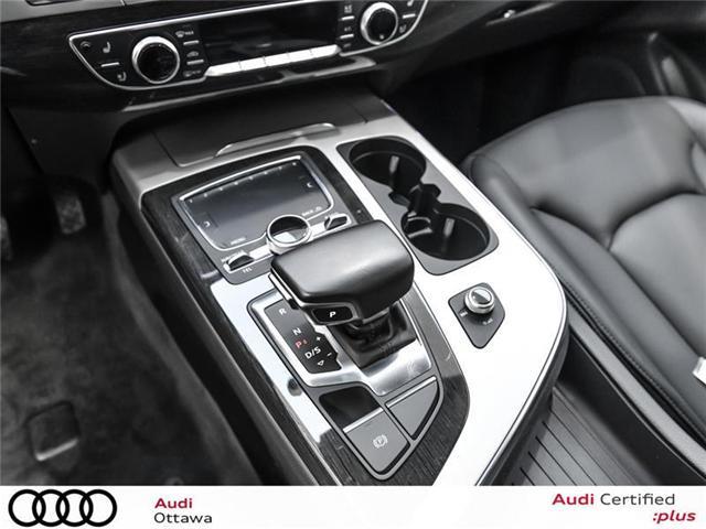 2017 Audi Q7 3.0T Technik (Stk: 52133A) in Ottawa - Image 20 of 22