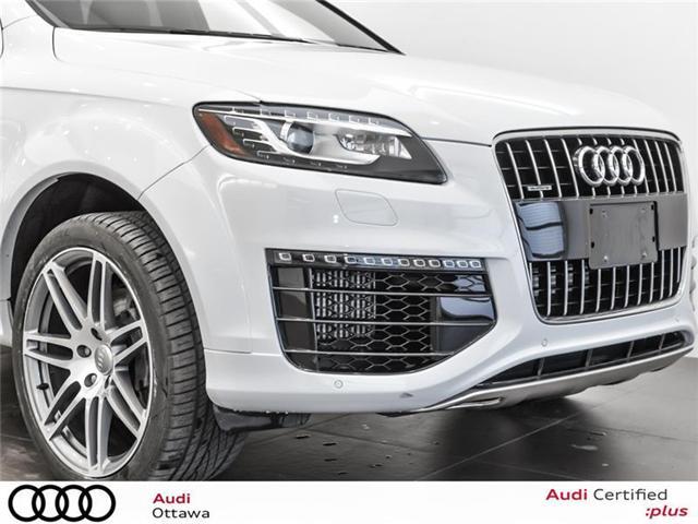 2015 Audi Q7 3.0 TDI Vorsprung Edition (Stk: PA505HT) in Ottawa - Image 11 of 22