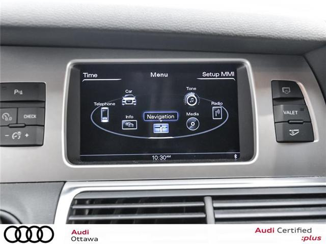 2015 Audi Q7 3.0 TDI Vorsprung Edition (Stk: PA505HT) in Ottawa - Image 21 of 22