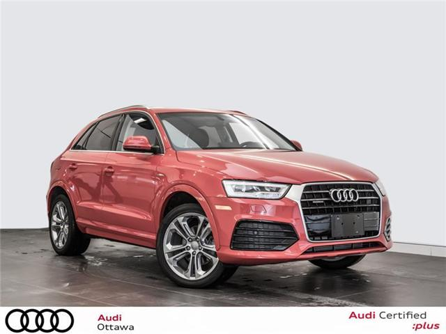 2017 Audi Q3 2.0T Technik (Stk: PA509) in Ottawa - Image 1 of 22