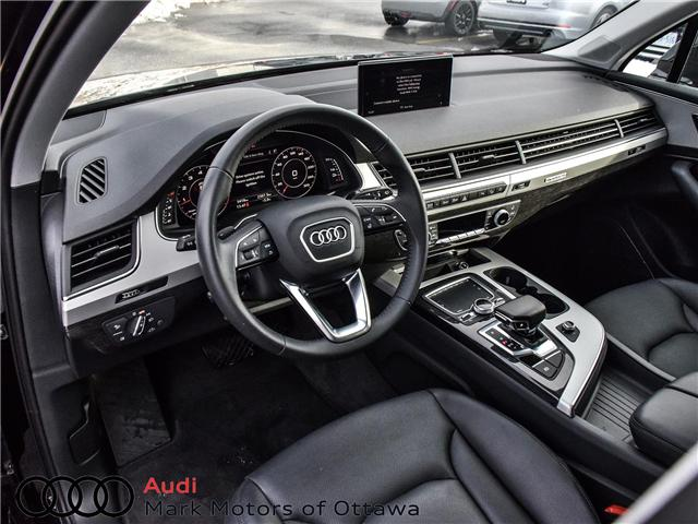 2018 Audi Q7 2.0T Progressiv (Stk: 90799) in Nepean - Image 9 of 28