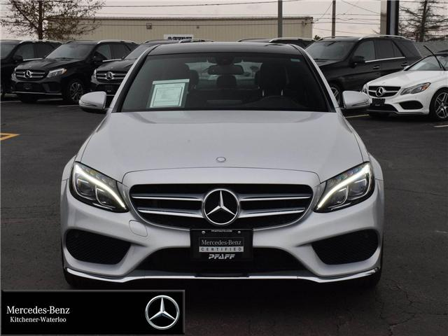 2016 Mercedes-Benz C-Class Base (Stk: 38174A) in Kitchener - Image 2 of 30