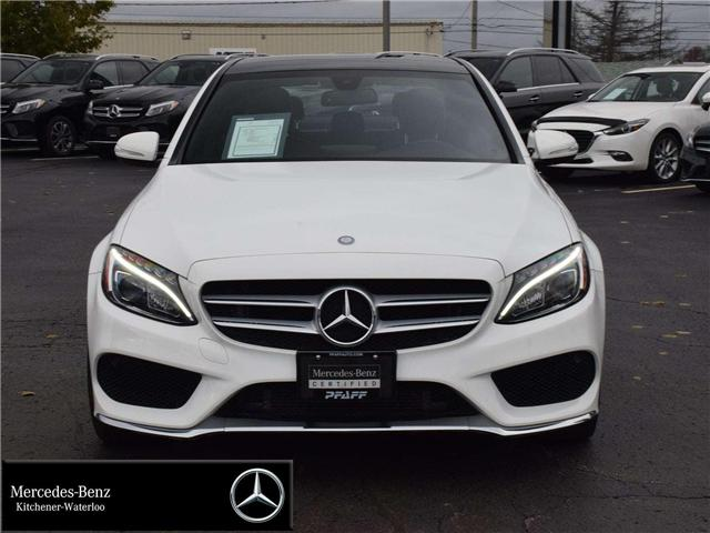 2015 Mercedes-Benz C-Class Base (Stk: U3664) in Kitchener - Image 2 of 30