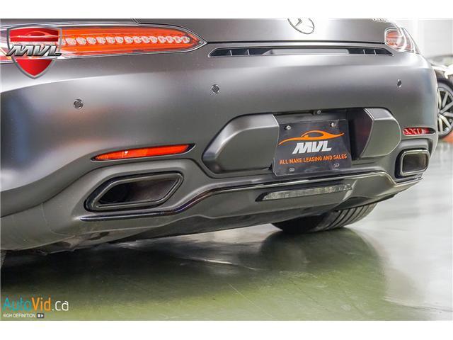 2018 Mercedes-Benz AMG GT C Base (Stk: ) in Oakville - Image 20 of 44