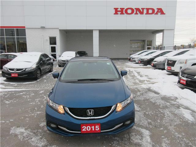 2015 Honda Civic Touring (Stk: 26276L) in Ottawa - Image 2 of 10