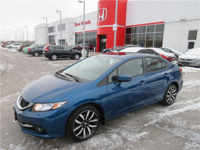 2015 Honda Civic Touring (Stk: 26276L) in Ottawa - Image 1 of 10