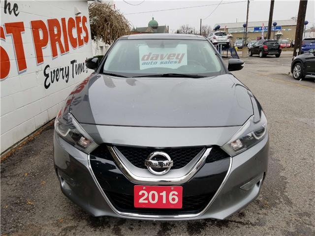 2016 Nissan Maxima SL (Stk: 18-527) in Oshawa - Image 2 of 17
