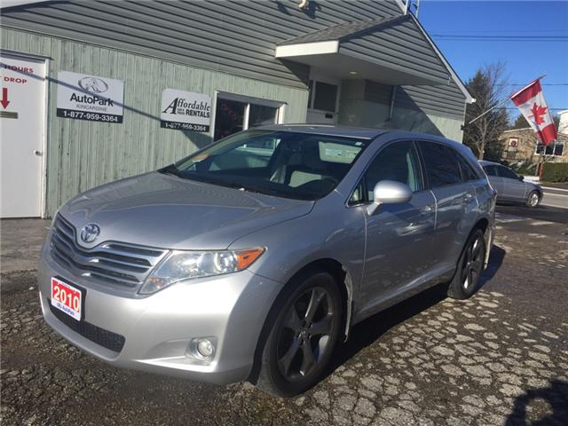 2010 Toyota Venza Base V6 (Stk: -U08918) in Kincardine - Image 1 of 14