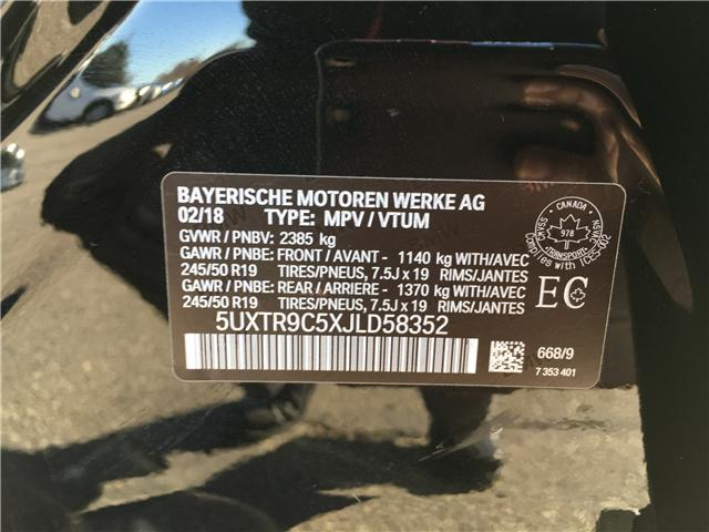 2018 BMW X3 xDrive30i (Stk: UT301) in Woodstock - Image 11 of 21