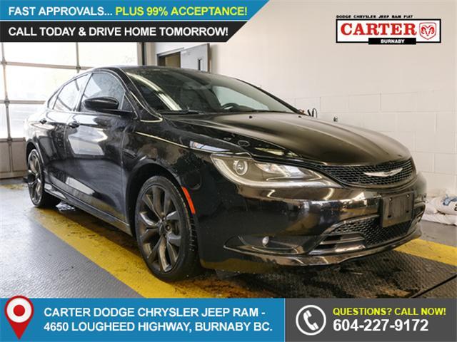 2016 Chrysler 200 S (Stk: 9-5892-1) in Burnaby - Image 1 of 22