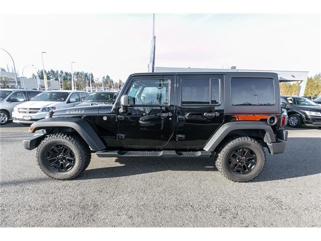 2016 Jeep Wrangler Unlimited Sport (Stk: J176171B) in Abbotsford - Image 4 of 18