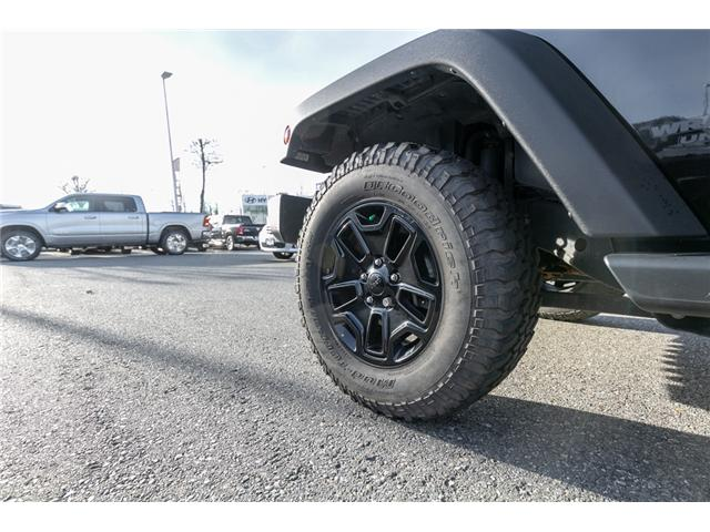 2016 Jeep Wrangler Unlimited Sport (Stk: J176171B) in Abbotsford - Image 11 of 18