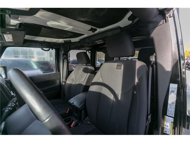 2016 Jeep Wrangler Unlimited Sport (Stk: J176171B) in Abbotsford - Image 15 of 18
