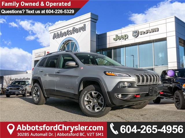 2015 Jeep Cherokee Trailhawk (Stk: K192827A) in Abbotsford - Image 1 of 25