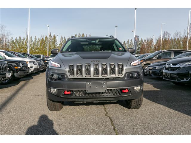 2015 Jeep Cherokee Trailhawk (Stk: K192827A) in Abbotsford - Image 2 of 25
