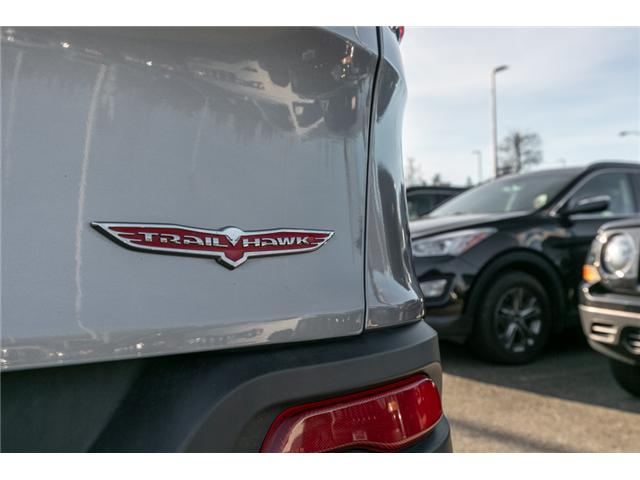 2015 Jeep Cherokee Trailhawk (Stk: K192827A) in Abbotsford - Image 11 of 25