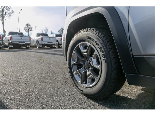 2015 Jeep Cherokee Trailhawk (Stk: K192827A) in Abbotsford - Image 12 of 25