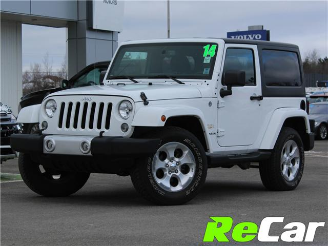 2014 Jeep Wrangler Sahara (Stk: 181302A) in Fredericton - Image 1 of 9