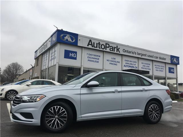 2019 Volkswagen Jetta 1.4 TSI Highline (Stk: 19-37393) in Brampton - Image 1 of 27