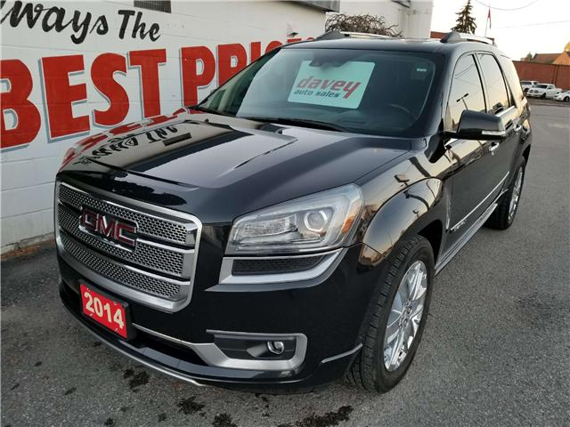 2014 GMC Acadia Denali (Stk: 18-769) in Oshawa - Image 1 of 16