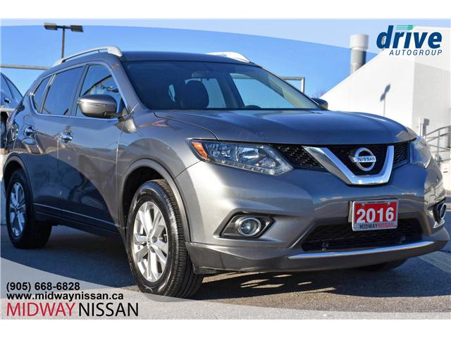 2016 Nissan Rogue SV (Stk: JC780074A) in Whitby - Image 1 of 22