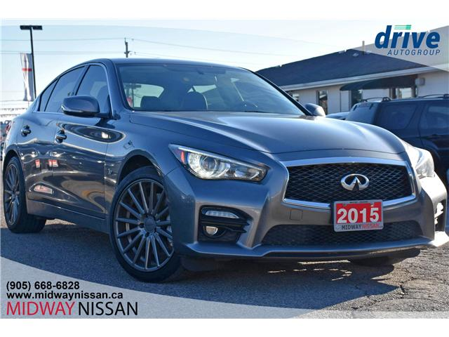 2015 Infiniti Q50 Sport (Stk: JN155839A) in Whitby - Image 1 of 28
