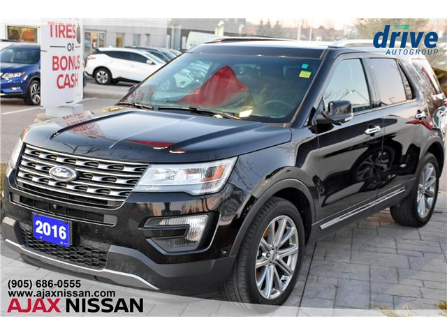 2016 Ford Explorer Limited (Stk: T817A) in Ajax - Image 1 of 22