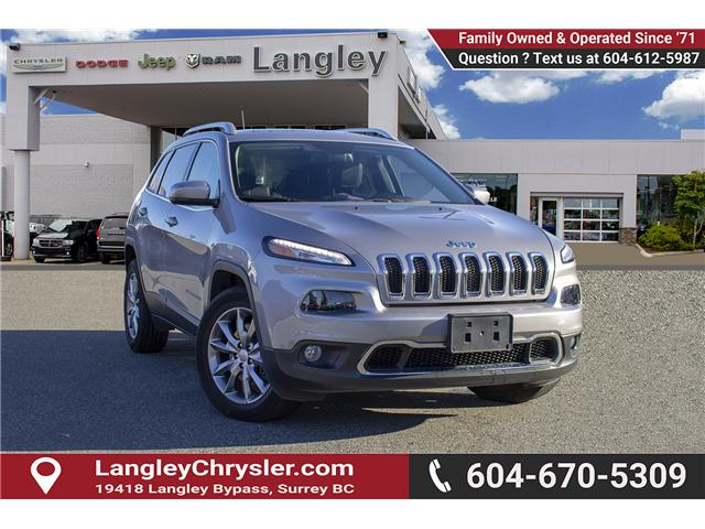 2017 Jeep Cherokee Limited (Stk: EE899600) in Surrey - Image 1 of 25
