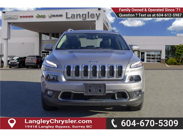 2017 Jeep Cherokee Limited (Stk: EE899600) in Surrey - Image 2 of 25
